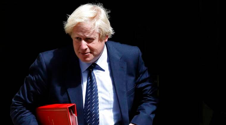 British Foreign Minister Boris Johnson, Boris Johnson, Brexit, British PM Theresa May, Theresa May, World News, Latest World News, Indian Express, Indian Express News