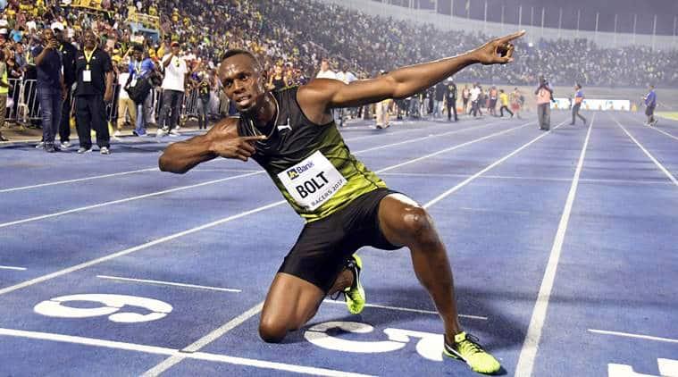 usain bolt, bolt, Home Soil Racers Grand Prix, usain bolt final 100m, kingston, sprint, sports news, indian express