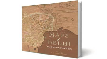 This book traces the history of Delhi through printed maps