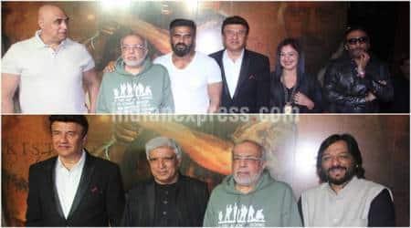 Puneet Issar, JP Dutta, Pooja Bhatt, Jackie Shroff, Anu Malik, Suneil Shetty