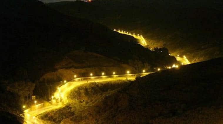 Border, Border floodlights, Rajiv Mehrishi, Indo-Pak border