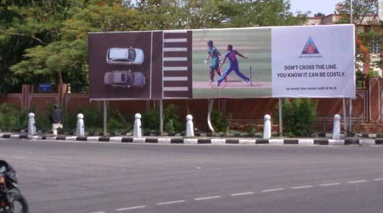 Jasprit Bumrah loses his cool on Jaipur traffic police over no-ball banner