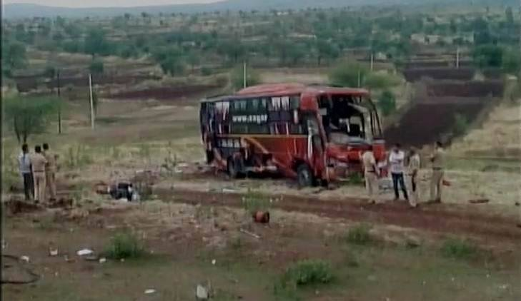 Nine killed as Latur-bound bus overturns in Maharashtra's Beed district