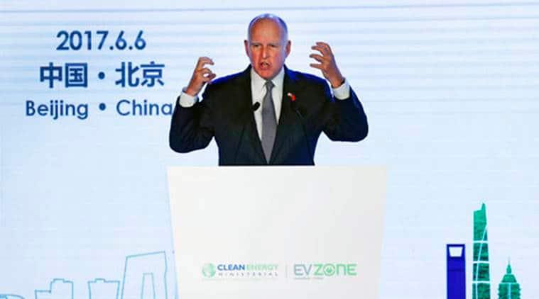 California, China, U.S. climate retreat, US President Donald Trump, Donald Trump, Paris climate accord, California China Clean Technology, World News, Latest World News, Indian Express, Indian Express News