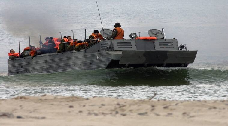 Amphibious vehicle, Chinese military, chinese army, Chinese miltary capabilty, Indian express, India news