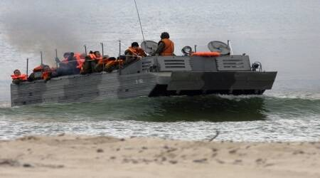 China developing world's fastest armoured vehicle runs on both water andland