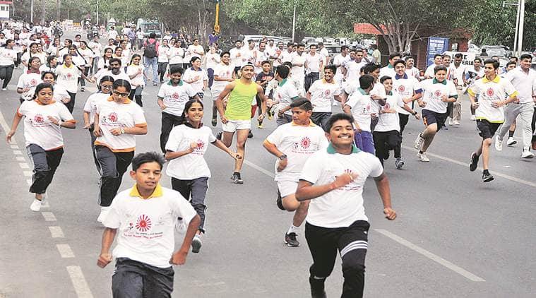 PGIMER, World Tobacco day, smoking, Mini marathon, Indian express news, india news, Latest news
