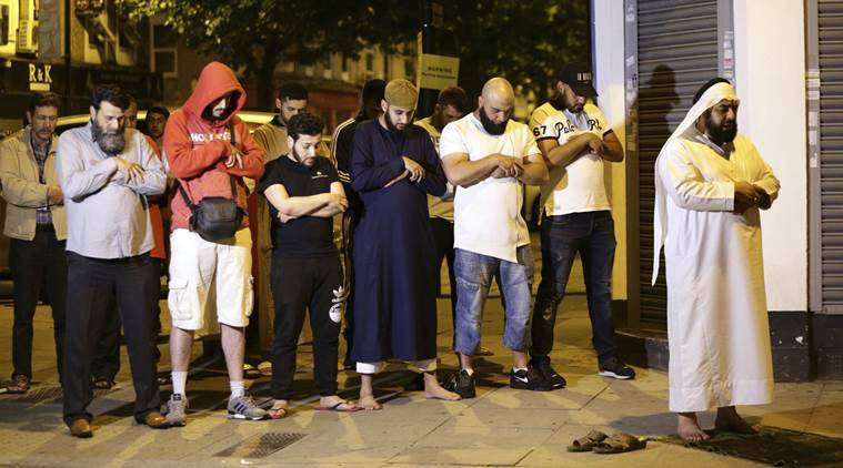 Imam save attacker, Finsbury Park, London, Seven Sisters Road, Finsbury Park Mosque, London attack, London mosque attack, Ramadan, Pedestrian Killed, Indian express
