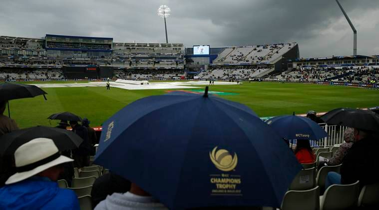 There Are Fears Of The ICC Champions Trophy 2017 Semifinal Between India Vs Bangladesh Being Abandoned Source Reuters