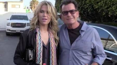 Julia Stambler is not afraid that boyfriend Charlie Sheen is HIV positive