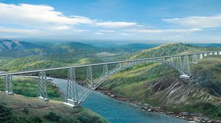 World's highest rail bridge on Chenab river can stand quakes, blasts: Officials