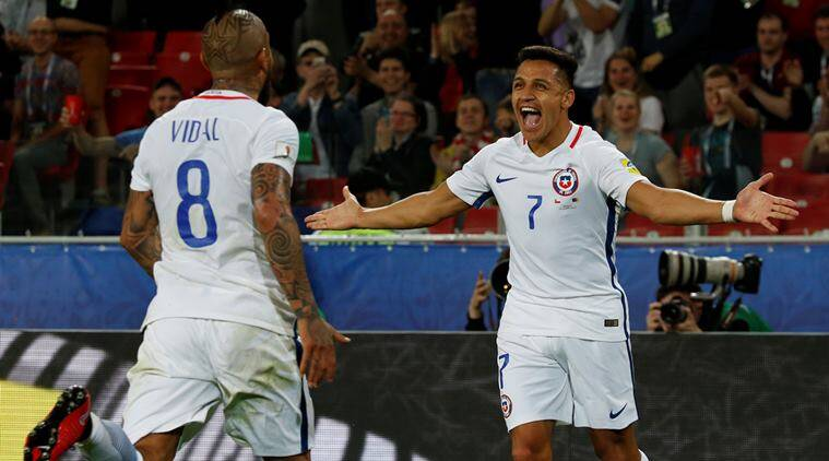 Chile vs Cameroon, Confederations Cup, Indian Express