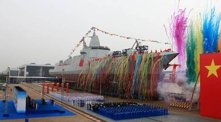 China launches biggest Navy destroyer, to compete with India in Indian Ocean
