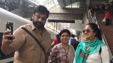 Chiranjeevi a part of 'Class of 80s reunion' in China, Rajinikanth, Mohanlal expected to join too. See photos