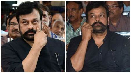 Chiranjeevi's twirled mustache look goes viral. Is this his Uyyalawada Narasimha Reddy look? See photos