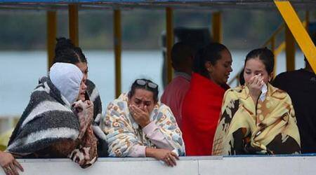 Colombia boat wreck death toll lowered to six so far