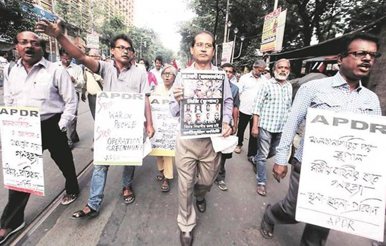 College Square, Collage Square Ban, Kolkata Protest, Kolkata, Indian Express News