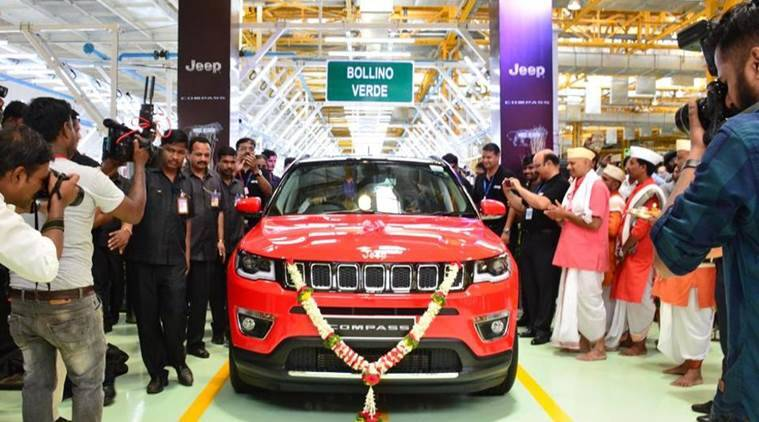 Fiat, Fiat Chrysler, Fiat Chrysler Jeep, Compass, Fiat Chrysler Jeep Compass, made in india car, car news