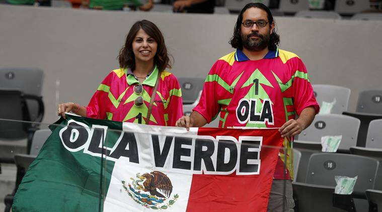 Green Wave, Mexico, Confederations Cup