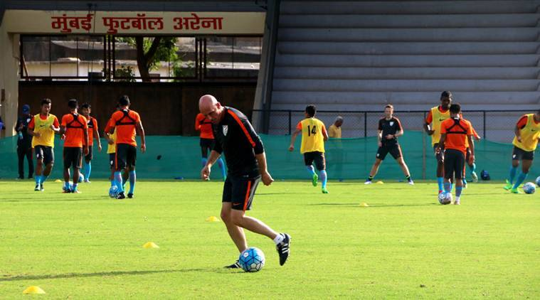 Stephen Constantine, Blue Tigers, Gurpreet Singh Sandhu, Eugeneson Lyngdoh , Sandesh Jhingan, Sports News, Indian Express News