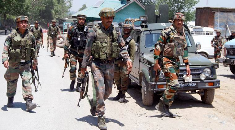 army convoy attack, kashmir attack, militants kashmir attack, kashmir terrorists, lower mundah attack, qazigund attack, india news