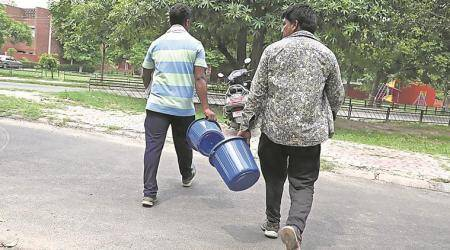 Chandigarh: Councillors, officials on 'holiday', coloured bin distributionhit