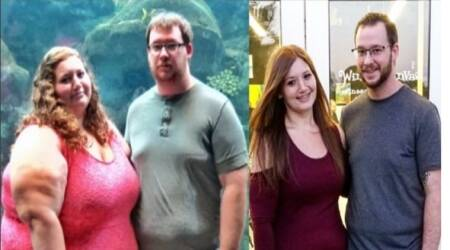 weight loss, weight loss stories, couple who lost weight, ways to lose weight, indian express, indian express news