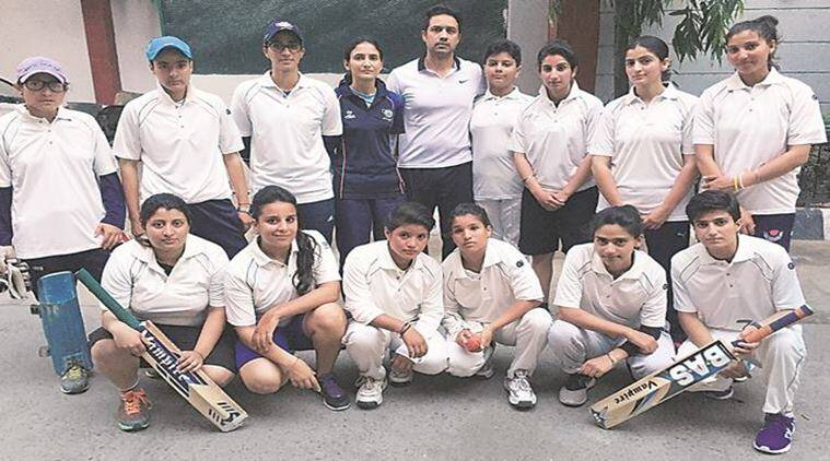 J&K women cricketers , J&K House, Virat Kohli , J&K woman cricketers Delhi exhibition match, Delhi News, Cricket News, Indian Express News