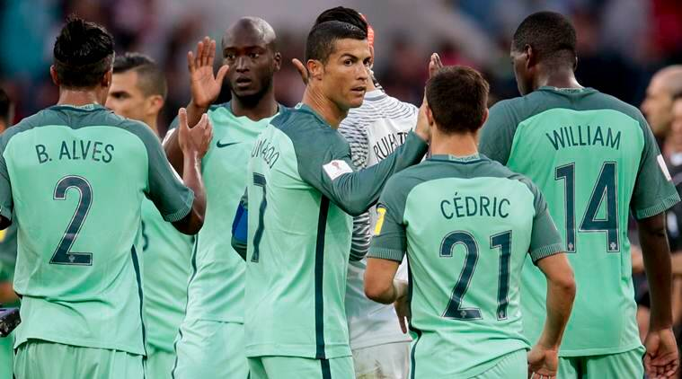 Ronaldo heads Portugal to win over Russia