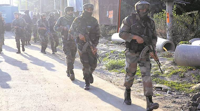 crpf attack, pulwama, awantipora, crpf training centre attacked, jammu kashmir, kashmir crpf attack, terrorist attack kashmir, indian express