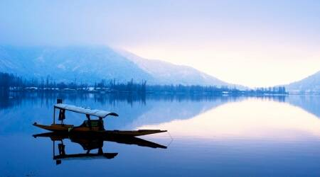 Dal Lake, Dal Lake fire, Kashmir news, india news, latest news, indian express