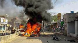 Photos Of The Day: Curfew Imposed In MP's Morena District