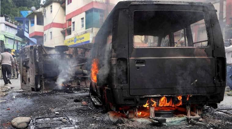 Darjeeling Unrest, West Bengal govt report, Home Ministry, GJM strike