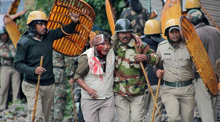 darjeeling violence news, india news, indian express news, latest news