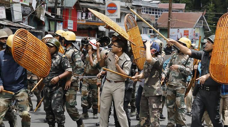 Darjeeling Police recovers arms, arrows from GJM office; outfit calls indefinite strike