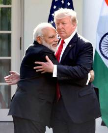 As Modi Hugs Trump, The Growth In Indo US Relations