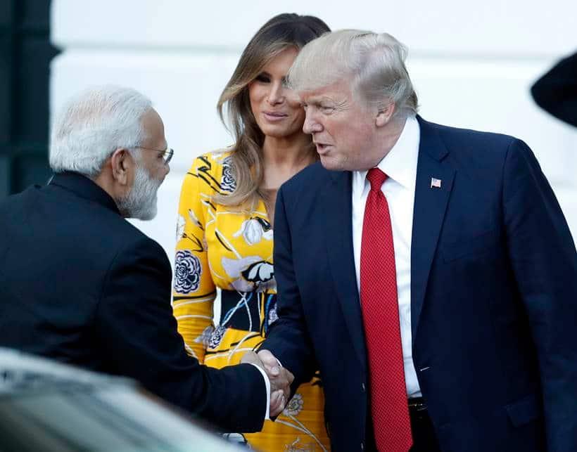 Donald Trump Narendra Modi, Narendra Modi US, Narendra Modi White House, Narendra Modi US Images, White House Images Modi, White House invites Modi