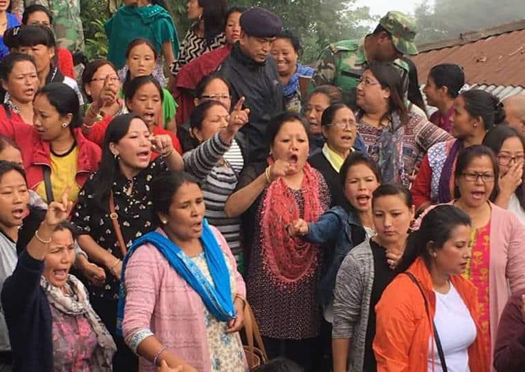 Darjeeling agitation, Darjeeling protest, Darjeeling strike, Bimal Gurung office raids, Darjeeling protest reports, Bimal Gurung, roshan giri, Narendra Modi, indian express news