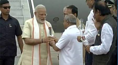 Modi in Gujarat: PM arrives in Ahmedabad for Sabarmati Ashram centenary celebrations