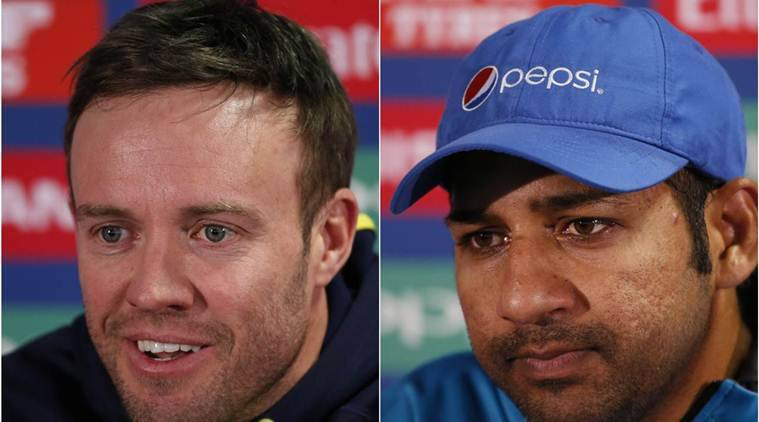Pakistan vs South africa Live Online Streaming, Pakistan vs South Africa Live Streaming, ICC Champions Trophy 2017, Ab de villiers, faf du plessis, sarfraz ahmed