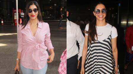 Deepika Padukone and Sophie Choudry prove stripes will never go out of style