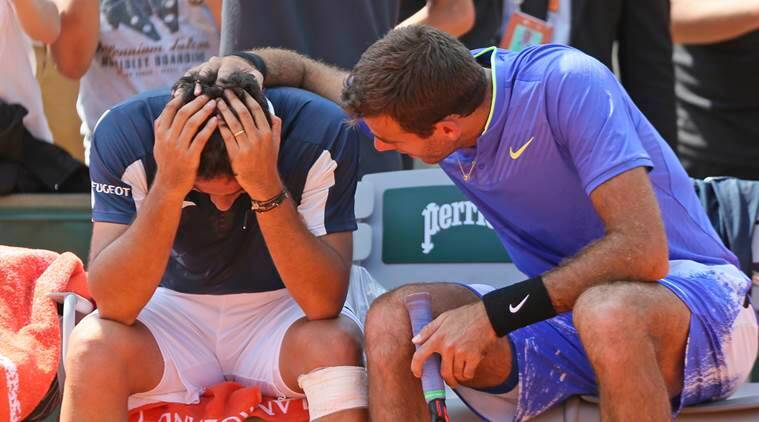 Del Potro shows ultimate sportsmanship to hurt rival