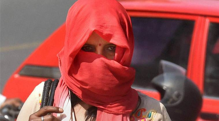 Image result for Temperature touches 45 degrees, highest so far this season, A heatwave swept Chandigarh