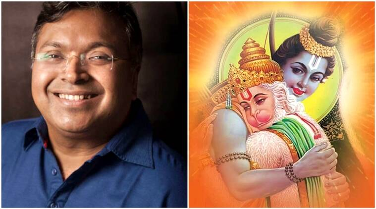 devdutt pattanaik, hanuman chalisa, the gita, devdutt pattanaik new book, devdutt pattanaik author, indian express, indian express news