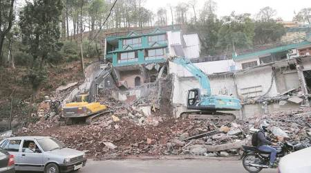 Iconic Giani Da Dhaba on Kalka-Shimla Highway no more