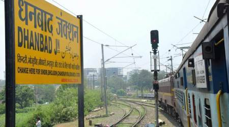 Three held, trains pelted with stone as Dhanbad-Chandrapura train services come to ahalt