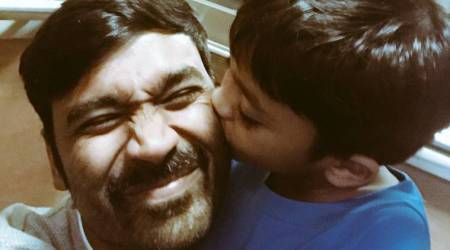 VIP 2 star Dhanush wishes son Linga on his birthday