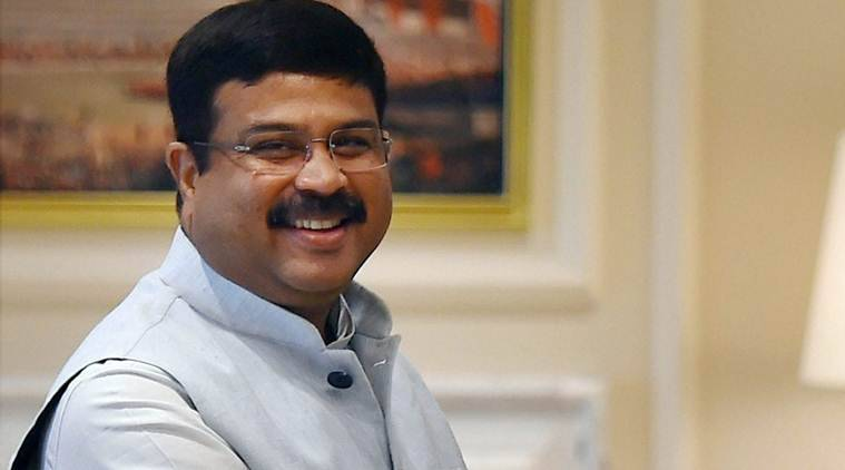 Dharmendra Pradhan, Petroleum minister, petrol price, diesel price, indian express news, india news, business news