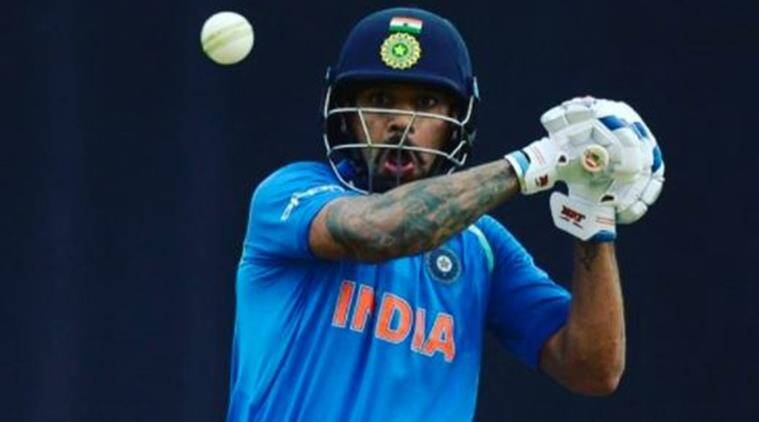 Shikhar Dhawan, India vs Pakistan, ICC Champions Trophy 2017, Indian Express