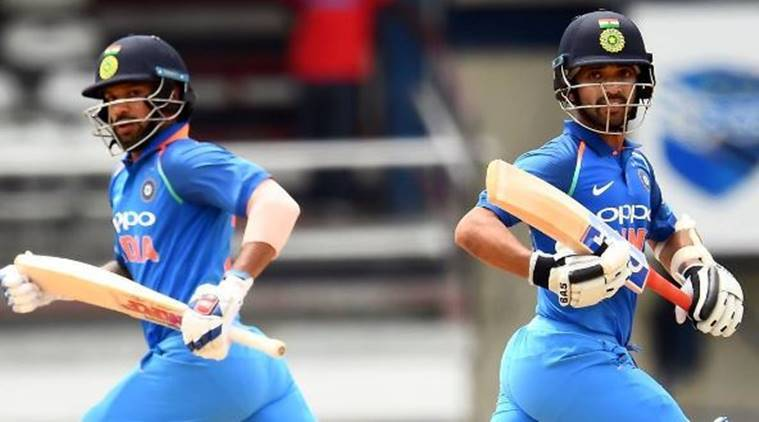Shikhar Dhawan, Ajinkya Rahane, India vs West Indies, Indian Cricket team, Ind vs WI, Cricket news, Indian Express